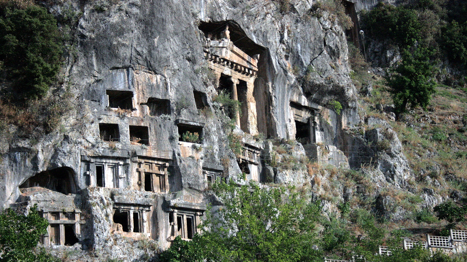Amyntas Rock Tombs,Light Tours Vacation Activities, Holiday Locations,Fethiye Trips 116