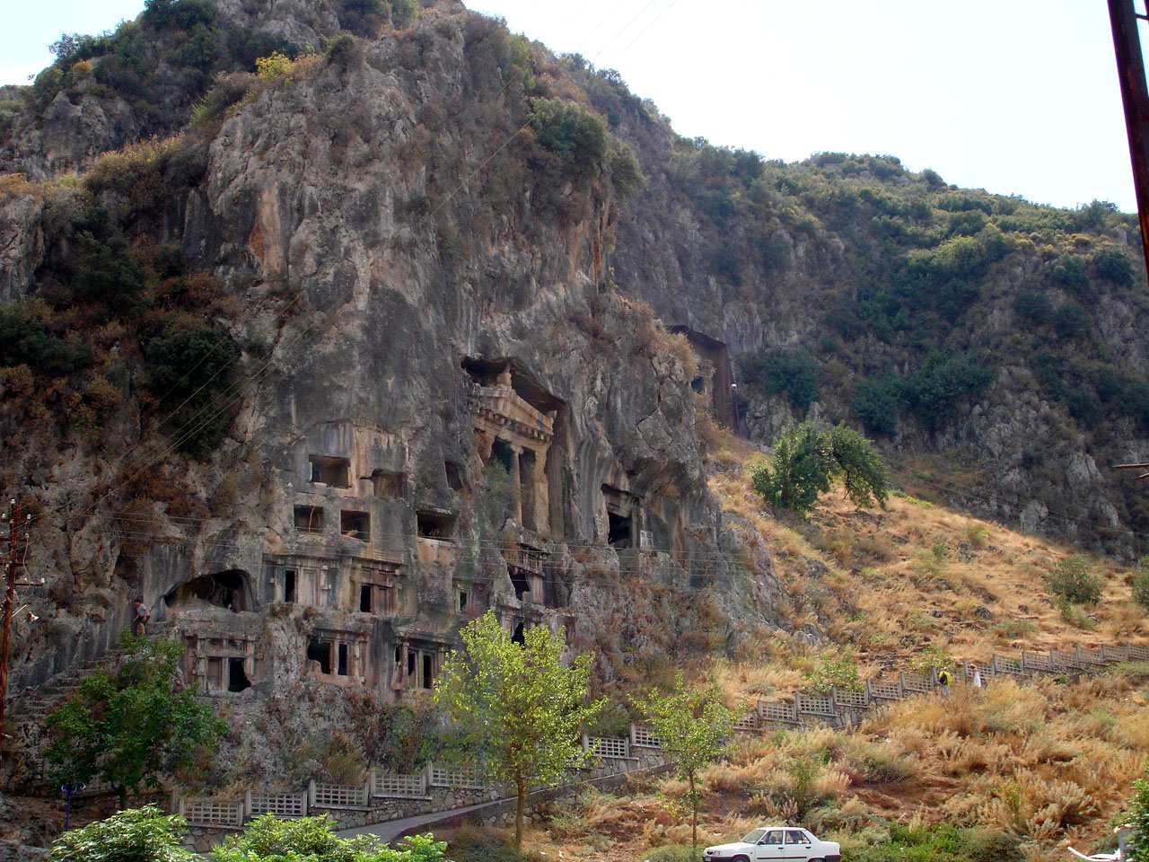 Amyntas Rock Tombs,Light Tours Vacation Activities, Holiday Locations,Fethiye Trips 113
