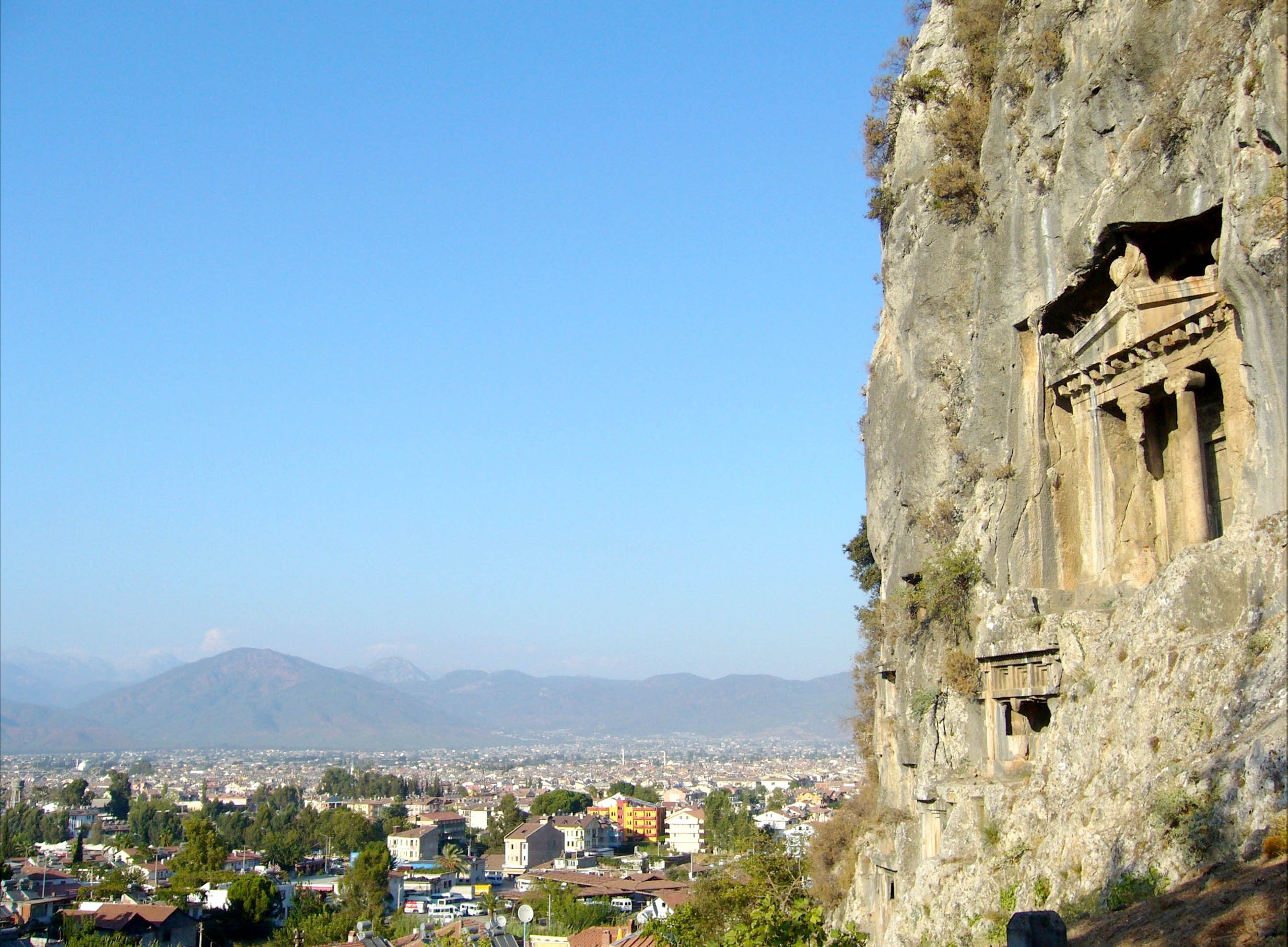 Amyntas Rock Tombs,Light Tours Vacation Activities, Holiday Locations,Rock Tombs 112