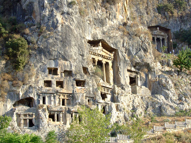 Amyntas Rock Tombs,Light Tours Vacation Activities, Holiday Locations,Rock Tombs 115