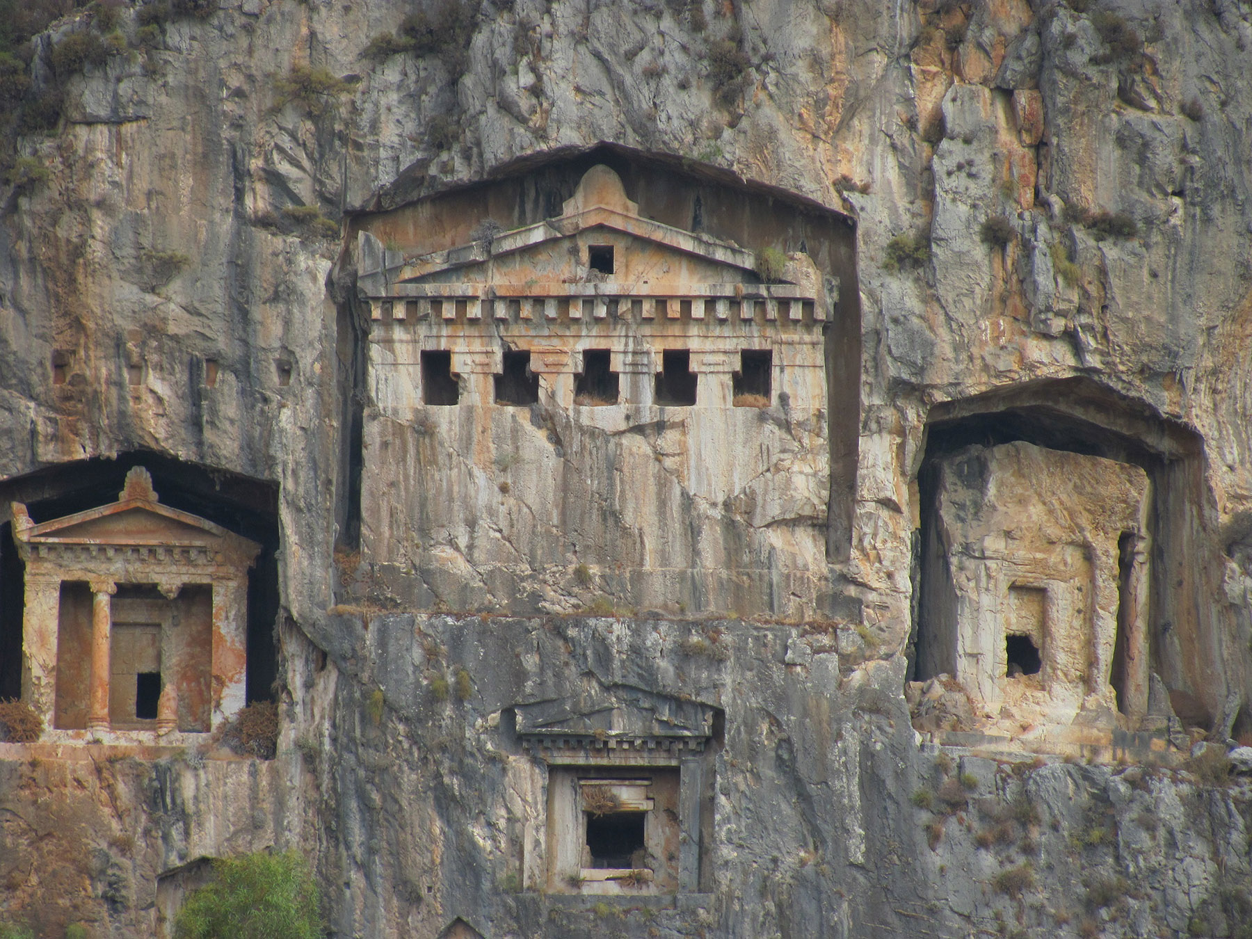 Amyntas Rock Tombs,Light Tours Vacation Activities, Holiday Locations,Rock Tombs 118