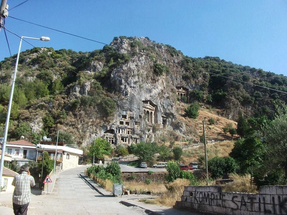 Amyntas Rock Tombs,Light Tours Vacation Activities, Holiday Locations,Fethiye Trips 111