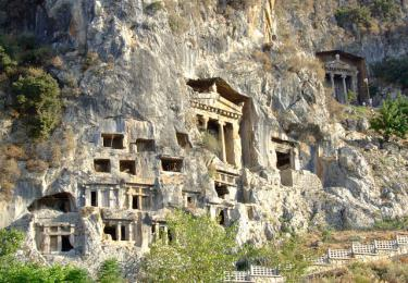Amyntas Rock Tombs,Light Tours Vacation Activities, Holiday Locations,Amyntas Rock Tombs 115