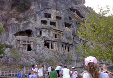 Amyntas Rock Tombs
