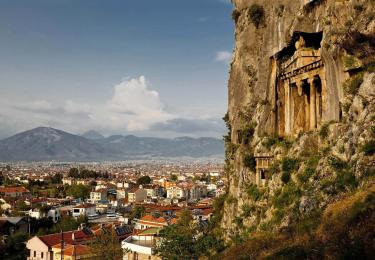 Amyntas Rock Tombs,Light Tours Vacation Activities, Holiday Locations,Cabin Tours Antalya 114