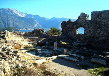 Afkule Monastery, Walking and Bird Watching,Light Tours Daily Tours, Discount Tours, Package Tours,Fethiye Weekend 2