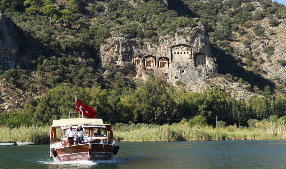 Dalyan Turtle Beach  activities light tours daily tours,Light Tours Daily Tours, Discount Tours, Package Tours,Dalyan Boat Tour 241