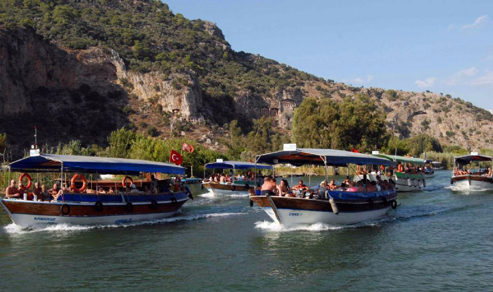 Dalyan Turtle Beach  activities light tours daily tours,Light Tours Daily Tours, Discount Tours, Package Tours,Dalyan Boat Tour 235