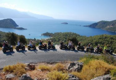Fethiye Quad Bike Safari  daily tours fethiye light tours yachts