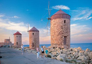 Rhodes Island Tour packages daily light tours yachts blue tour