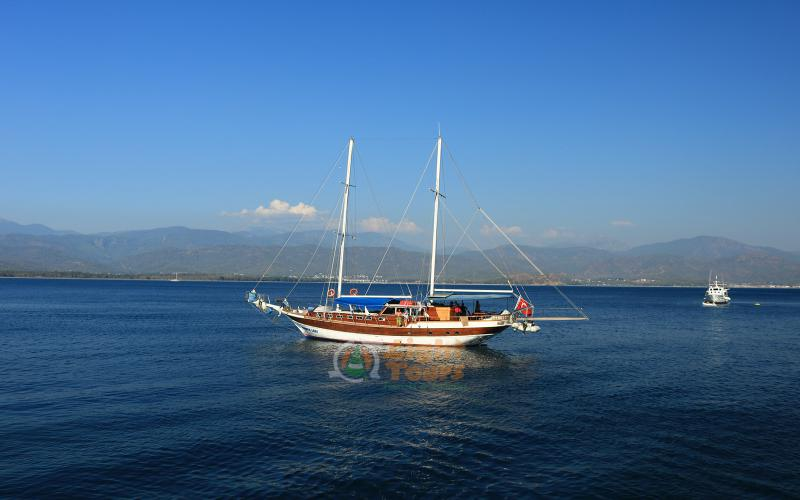12 Islands Boat Tour, Fethiye, Rabbit Island, Gocek Island, Yassica Island, Aquarium Bay, Red Island,Light Tours Daily Tours, Discount Tours, Package Tours,Blue Tour 345