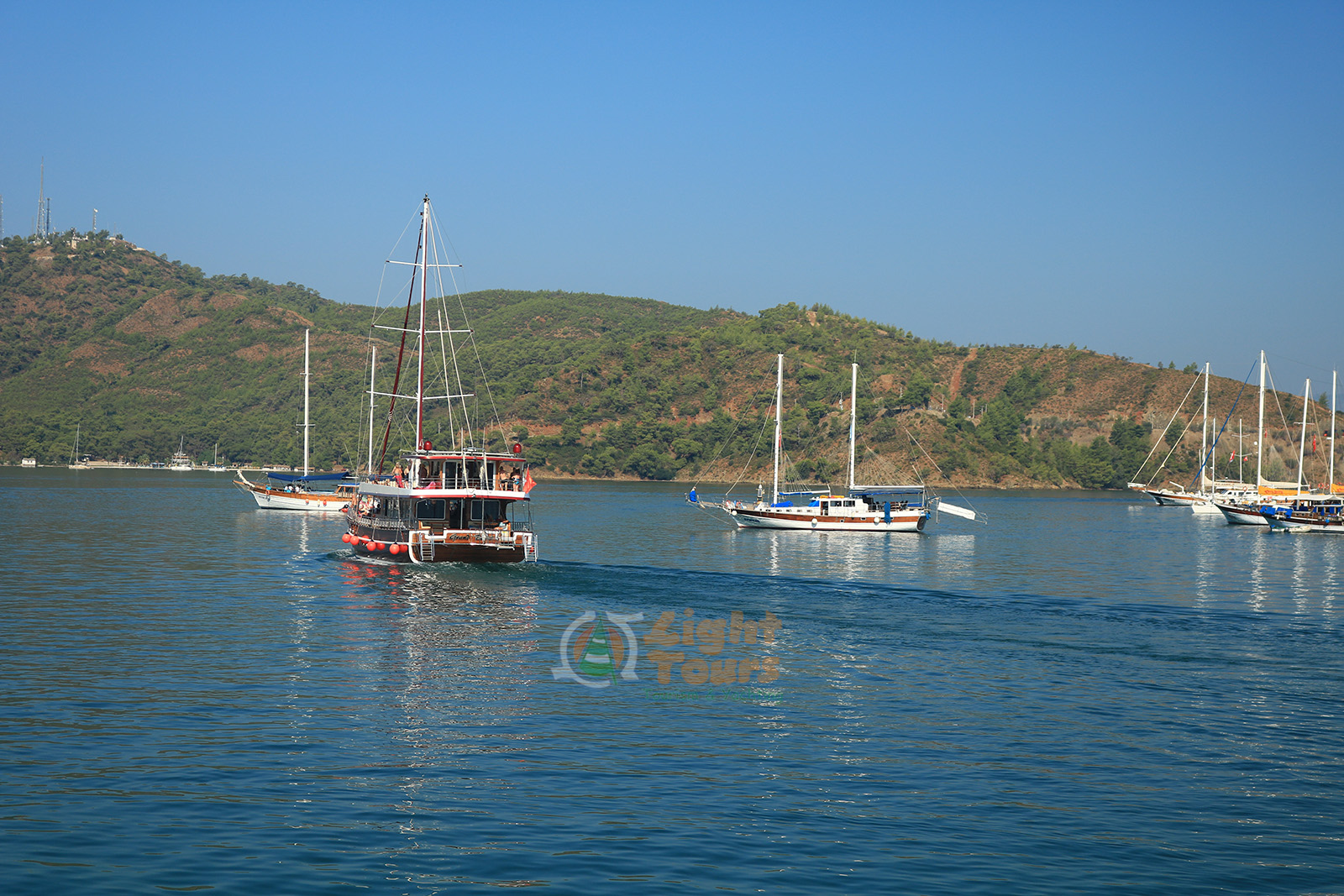 12 Islands Boat Tour, Fethiye, Rabbit Island, Gocek Island, Yassica Island, Aquarium Bay, Red Island,Light Tours Daily Tours, Discount Tours, Package Tours 369