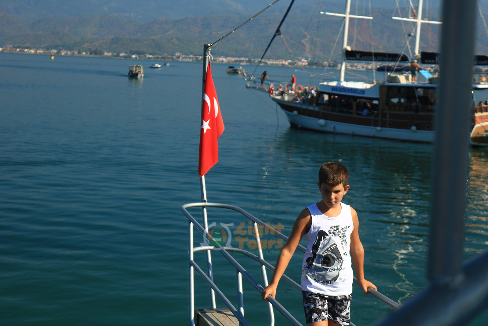 12 Islands Boat Tour, Fethiye, Rabbit Island, Gocek Island, Yassica Island, Aquarium Bay, Red Island,Light Tours Daily Tours, Discount Tours, Package Tours 370