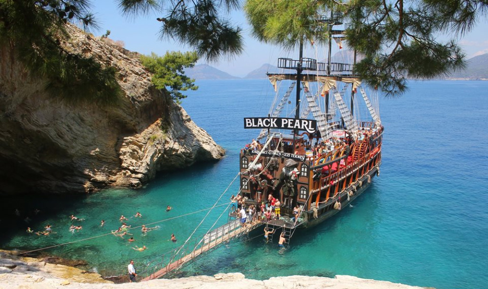 Oludeniz Pirate Boat Tour family tours fethiye light tours yacht charter,Light Tours Daily Tours, Discount Tours, Package Tours,Oludeniz Pirate Boat Tour 60