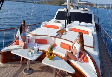 Bodrum Gökova Bodrum Air Conditioned Cabin Cruise - Blue Cruise,Light Tours Blue Cruise, Blue Cruise, Discount Tours,Cabin Rental 225