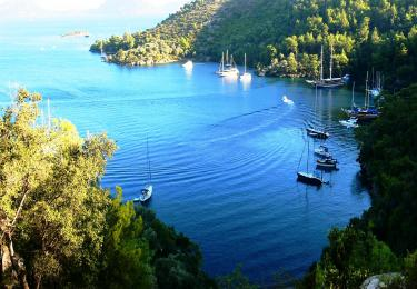 Bodrum Gökova Bodrum Air Conditioned Cabin Cruise - Blue Cruise