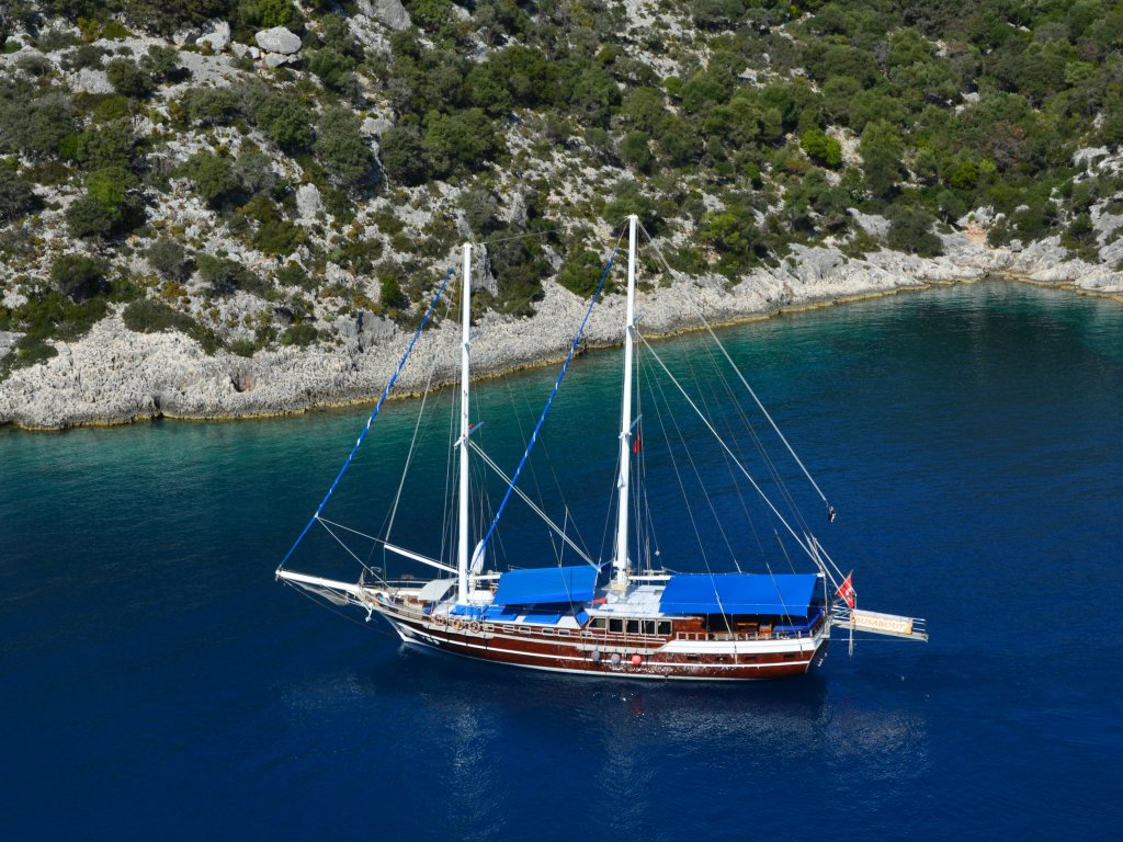 Fethiye Marmaris Air Conditioned Mini Cabin Cruise - Blue Cruise,Light Tours Blue Cruise, Blue Cruise, Discount Tours 109