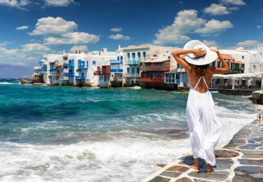 Santorini Mykonos Air-conditioned Cabin Tours,Light Tours Blue Cruise, Blue Cruise, Discount Tours,Greek Islands Blue Cruise 120