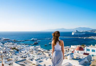 Santorini Mykonos Air-conditioned Cabin Tours,Light Tours Blue Cruise, Blue Cruise, Discount Tours,Greek Islands Blue Cruise 128