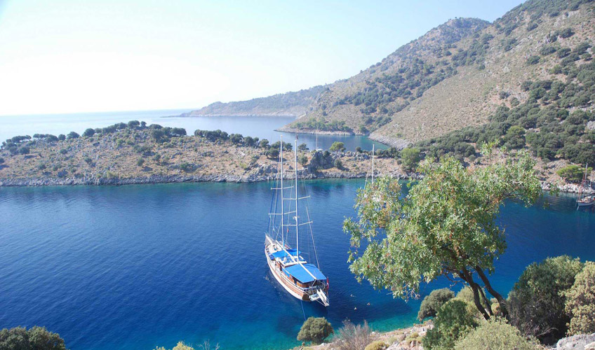 Bodrum Karacasogut Mini Cabin Tour - Blue Cruise,Light Tours Blue Cruise, Blue Cruise, Discount Tours,Cabin Charter 265