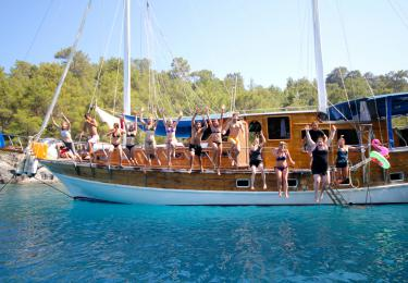 Bodrum Mikanos Mini Cabin Tour - Blue Cruise,Light Tours Blue Cruise, Blue Cruise, Discount Tours,Paros Blue Cruise 301