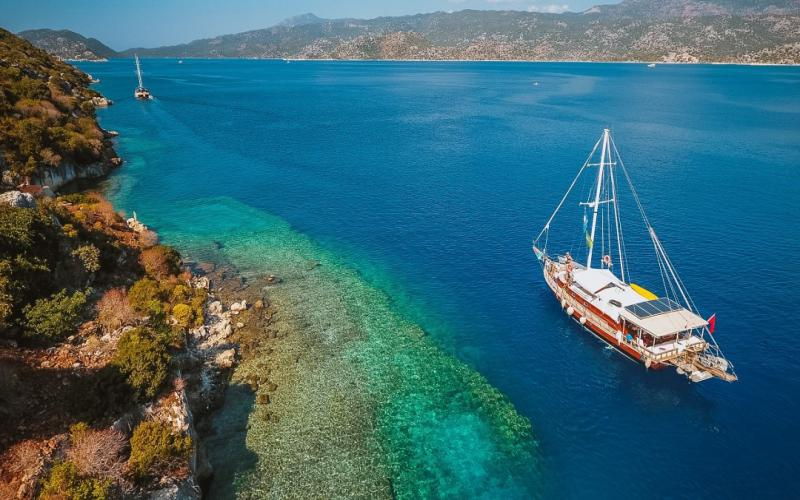 Fethiye Olympos Mini Cabin Tour - Blue Cruise,Light Tours Blue Cruise, Blue Cruise, Discount Tours,Cabin Charter Blue Tour 337