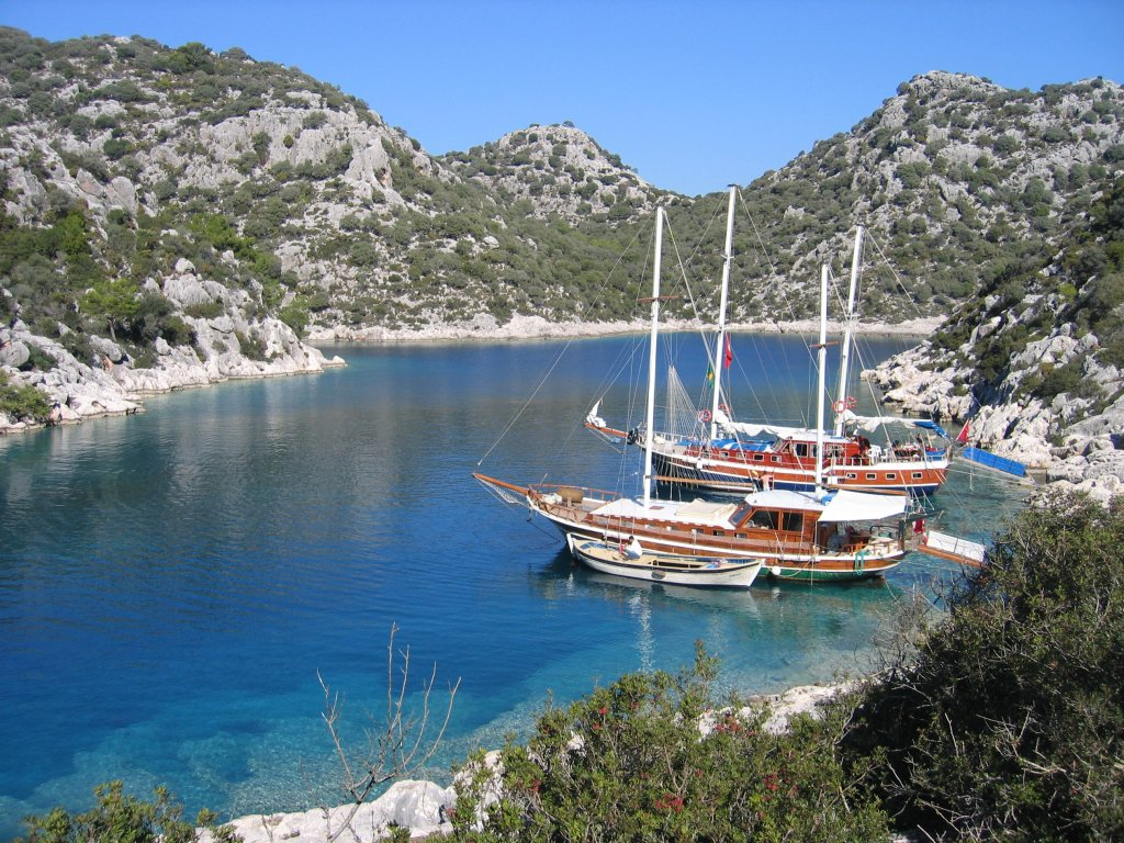 Antalya Kekova Antalya Cabin Tours - Blue Cruise,Light Tours Blue Cruise, Blue Cruise, Discount Tours,Demre Blue Tour 368