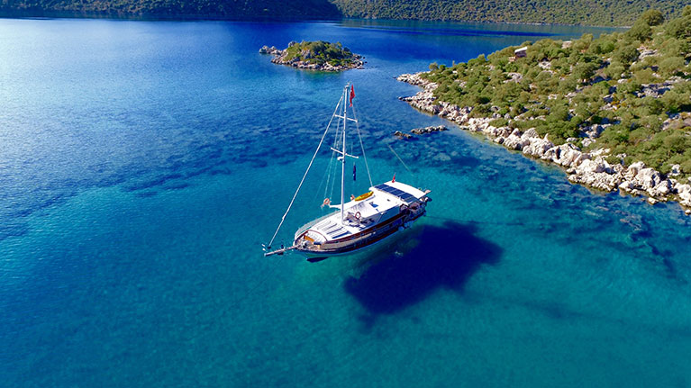 Antalya Kekova Antalya Cabin Tours - Blue Cruise,Light Tours Blue Cruise, Blue Cruise, Discount Tours,Demre Blue Tour 360