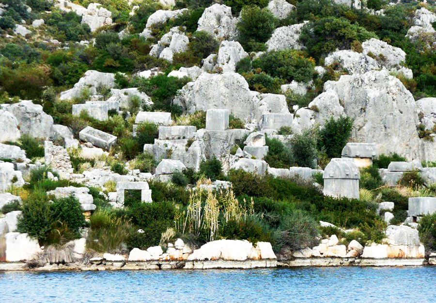 Kemer Kekova Cabin Tour,Light Tours Blue Cruise, Blue Cruise, Discount Tours,Kemer Kekova Cabin Tour 34