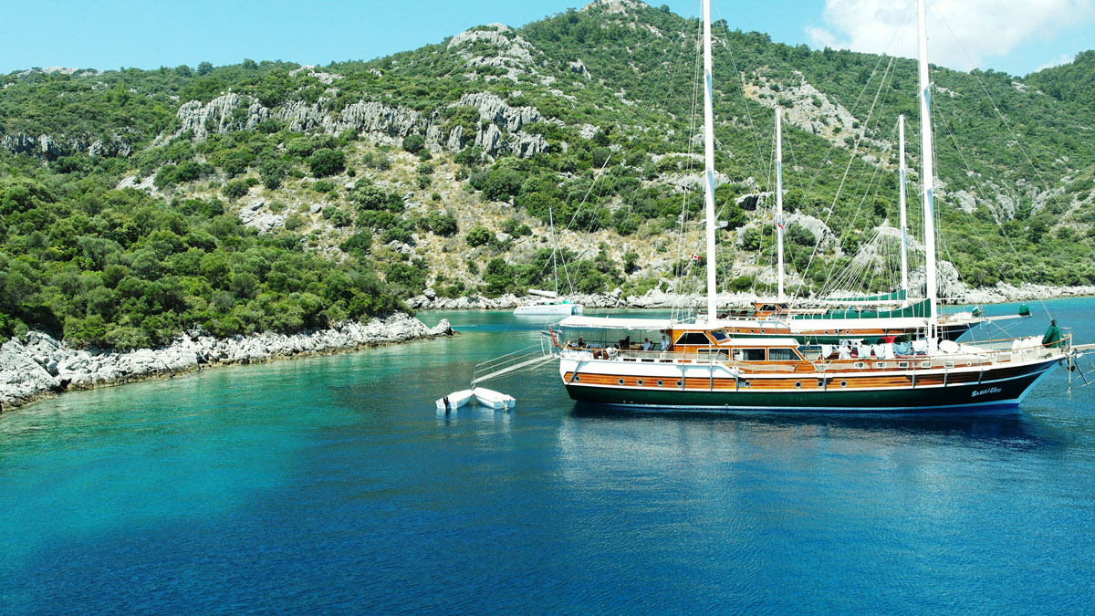 Kemer Kekova Kemer Cabin Cruise - Blue Cruise,Light Tours Blue Cruise, Blue Cruise, Discount Tours 177