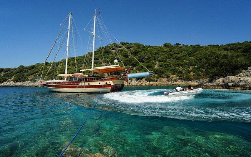 Kemer Kekova Kemer Cabin Cruise - Blue Cruise,Light Tours Blue Cruise, Blue Cruise, Discount Tours,Economic Cabin Tours 179