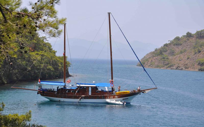 Marmaris Fethiye Mini Cabin Cruise - Blue Cruise,Light Tours Blue Cruise, Blue Cruise, Discount Tours,Marmaris Cabin Tour 188