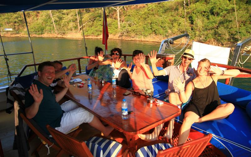 Marmaris Fethiye Mini Cabin Cruise - Blue Cruise,Light Tours Blue Cruise, Blue Cruise, Discount Tours,Economic Cabin Tours 181