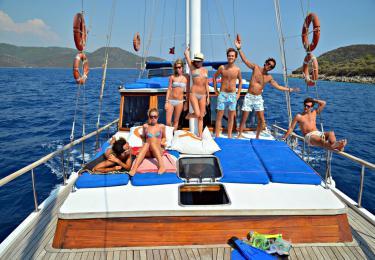 Marmaris - Simi - Rhodes - Marmaris (Greek Islands) Cabin Cruise - Blue Cruise,Light Tours Blue Cruise, Blue Cruise, Discount Tours 190