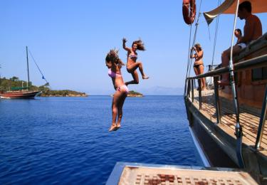 Bodrum Kos Nisyros Symi Bodrum Cabin Cruise - Blue Cruise,Light Tours Blue Cruise, Blue Cruise, Discount Tours,The Blue Voyage Of Mykonos 206