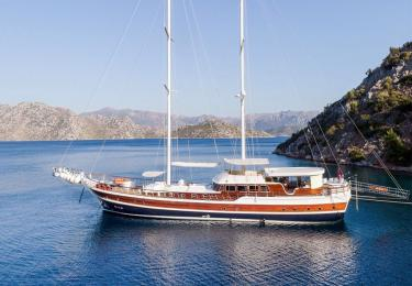 Halcon Del Mar gulet bodrum light tours yachts