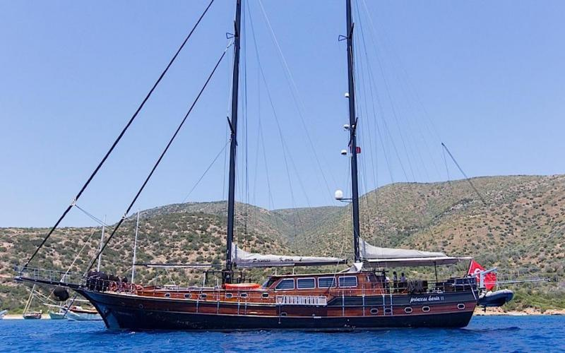 Princess Karia 2 bodrum yachts light tours blue tour