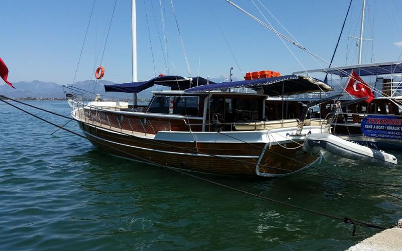 Yakamoz F fethiye rental yacht blue tour light tours yachts
