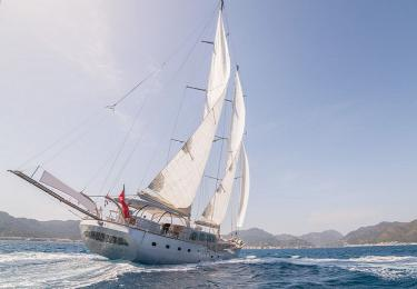 Silver Moon gulet fethiye bodrum yachts gulet rental light tours yachts
