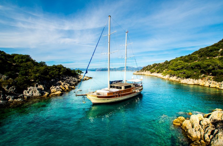 Albatrosa gulet gocek yacht charter light tours,Light Tours Blue Cruise, Gulet Charter, Yacht Charter 1713