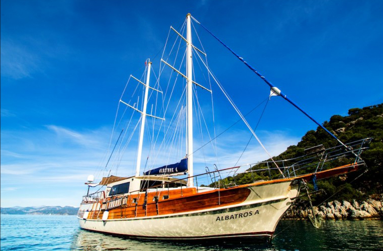 Albatrosa gulet gocek yacht charter light tours,Light Tours Blue Cruise, Gulet Charter, Yacht Charter 1709