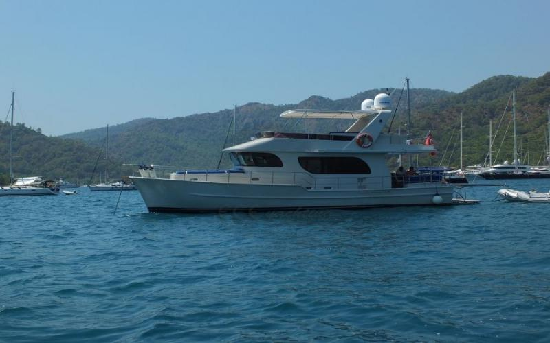 FLY Trawler yachting,Light Tours Blue Cruise, Gulet Charter, Аренда яхт,Light Tours Trawle 158