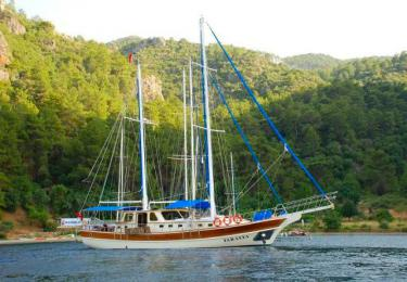 Faralya gulet fethiye rental yacht light tours yachts