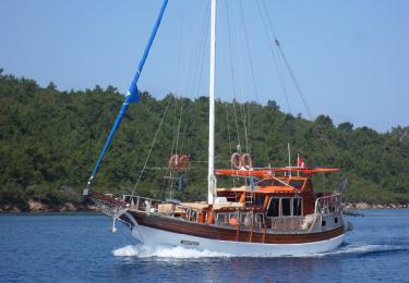 Tayfun gulet bodrum yacht charter light tours yachts blue cruise tour