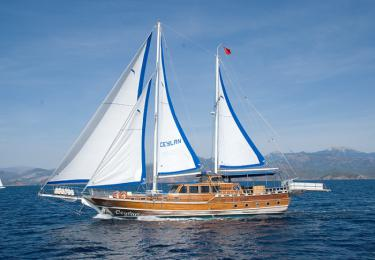 Ceylan gule  charter boat blue tour fethiye light tours yachts