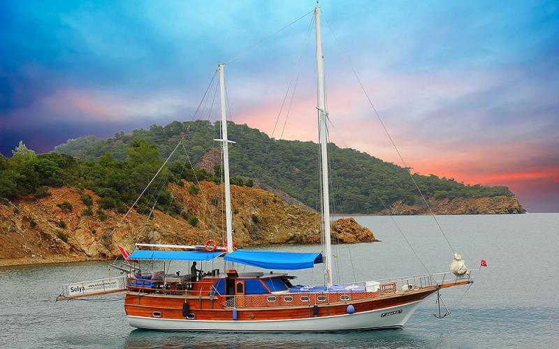 Selya gulet gocek чартер яхт легкие туры яхты синий тур,Light Tours Blue Cruise, Gulet Charter, Аренда яхт 1993