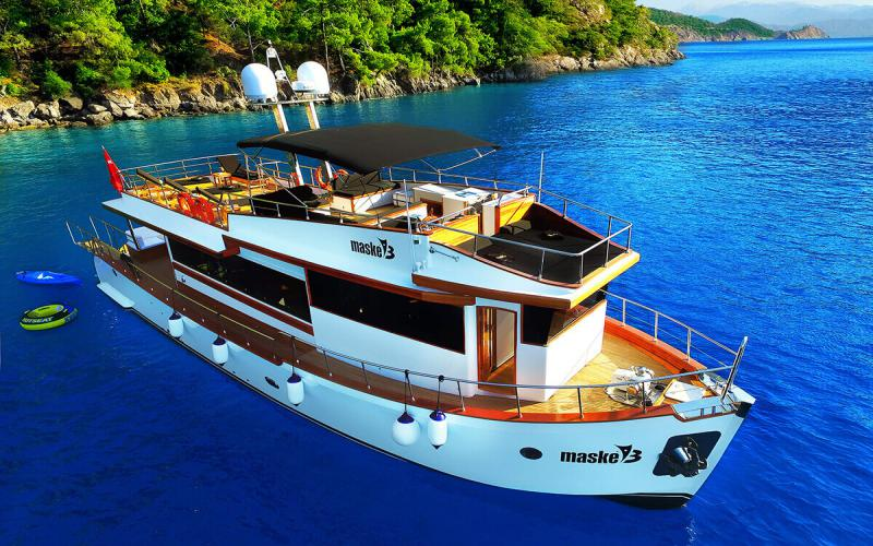 Maske 3,Light Tours Blue Cruise, Gulet Charter, Аренда яхт,Аренда трассы Gocek 192