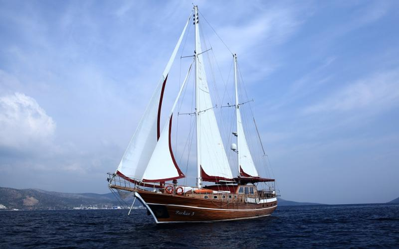 Furkan 3 gulet bodrum чартер яхт синий круизный лайнер яхты чартер,Light Tours Blue Cruise, Gulet Charter, Аренда яхт,яхт-туры 2138