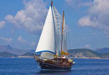 Nikola gulet bodrum yacht charter light tours daily weekly boat hire