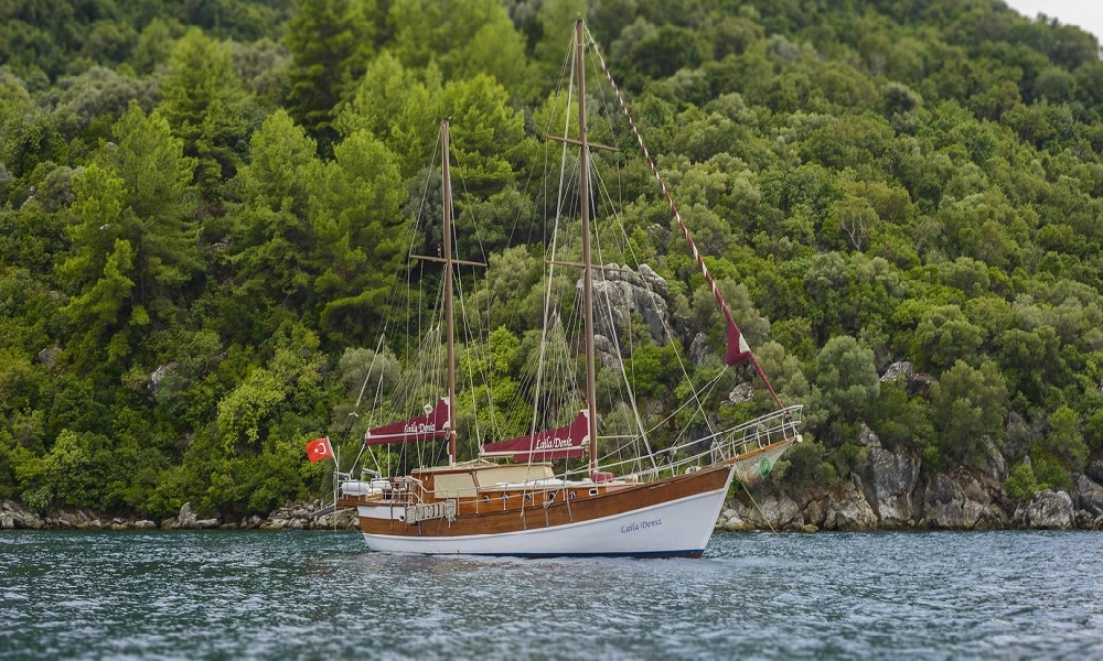 Laila Deniz gulet marmaris yacht charter light tours blue cruise yachts,Light Tours Blue Cruise, Gulet Charter, Yacht Charter,Laila Deniz Boat 2412